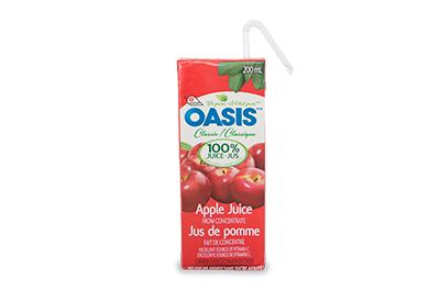 + Apple/Orange Juice or Fountain Pop